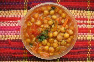 Sopa de garbanzos con jengibre, ¡una delicia cargada de nutrientes!