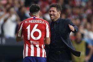 Héctor Herrera va por otra titularidad con Atlético de Madrid