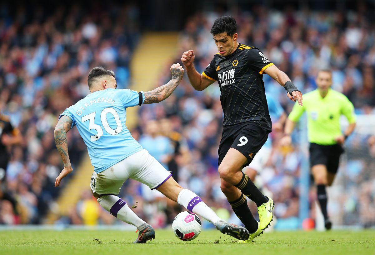 Raúl Jiménez quiere aplicar su dosis goleadora al Manchester City de Guardiola