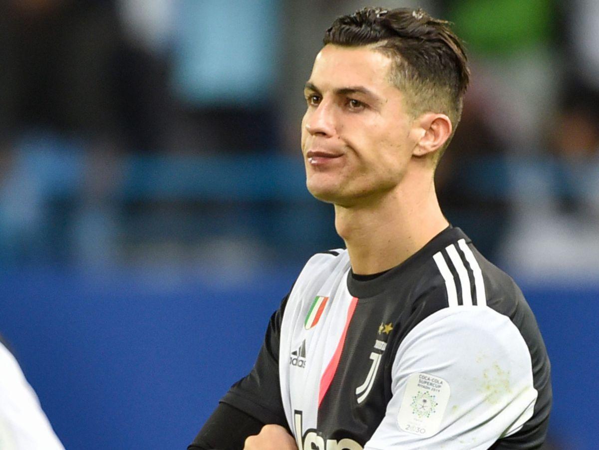 Cristiano Ronaldo hizo berrinche tras perder la Supercopa de Italia
