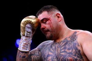 VIDEO: Andy Ruiz da la cara: así lo dejó Anthony Joshua tras arrebatarle los títulos