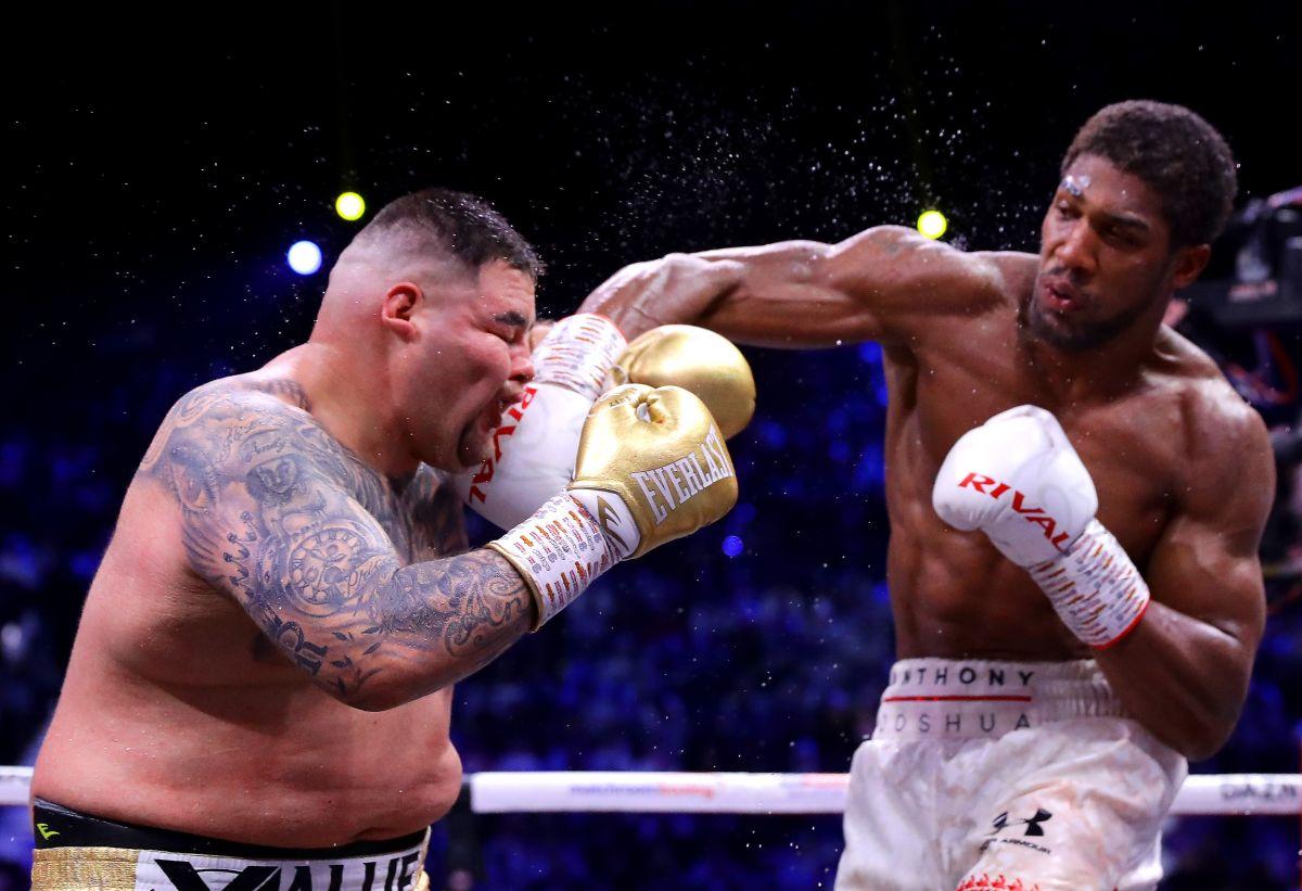 Anthony Joshua fue muy superior a Andy Ruiz en su última pelea.