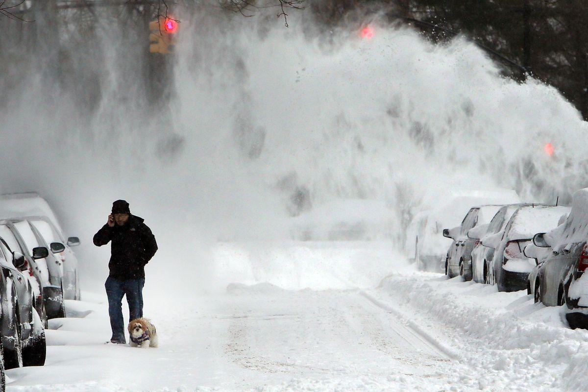 Alertan que gran tormenta de invierno golpeará con fuertes nevadas a estados del noroeste