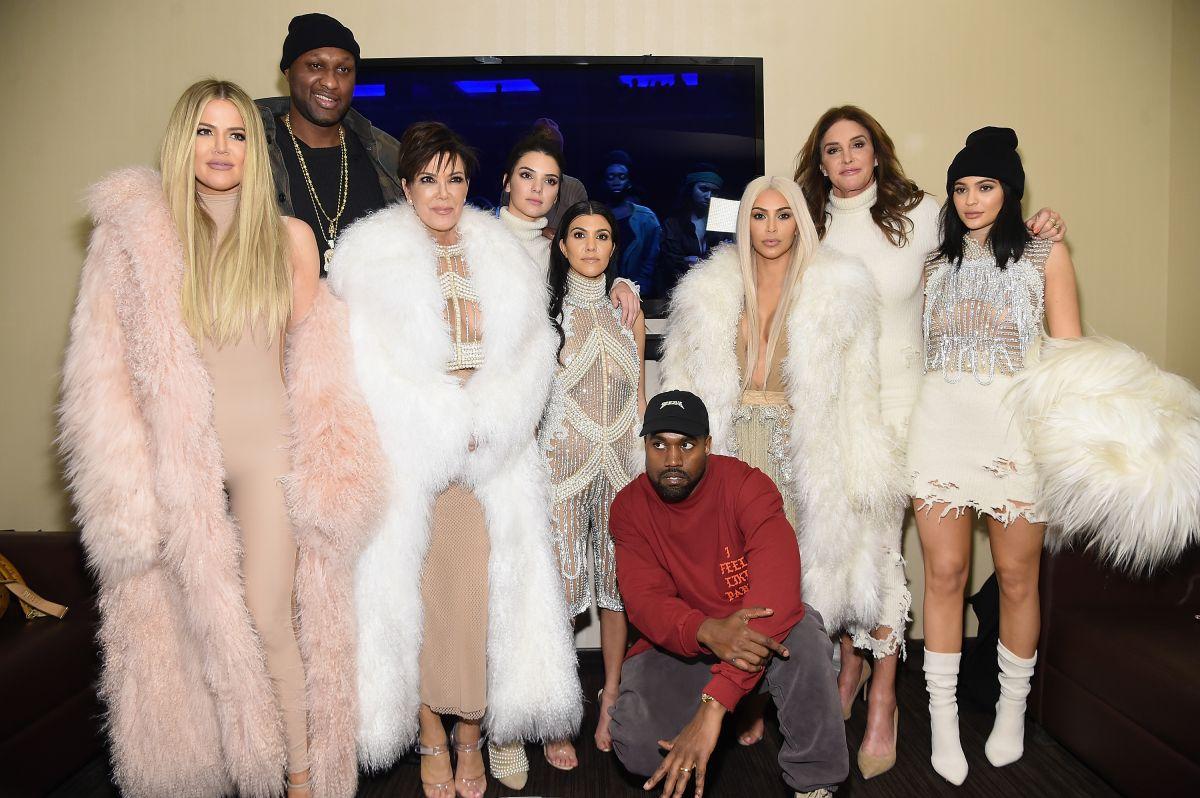 Familia Kardashian-Jenner.