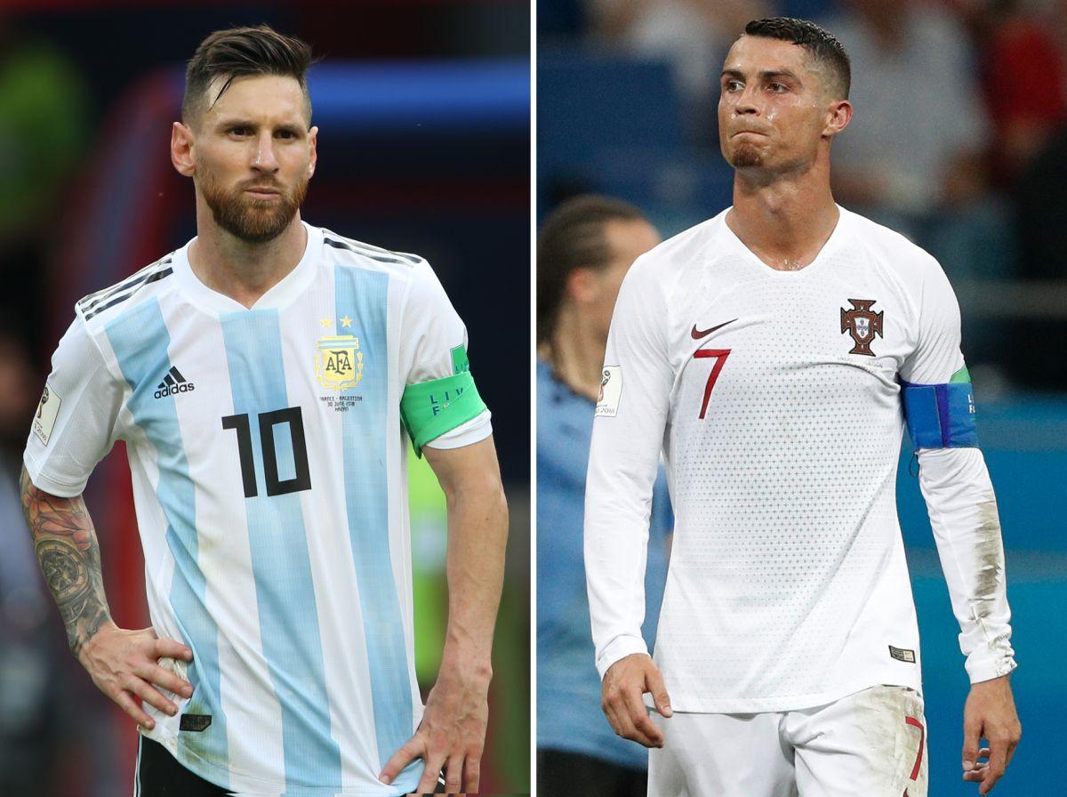 Un enfrentamiento más: Leo Messi y Cristiano Ronaldo ahora pelean por el mejor jugador del siglo XXI