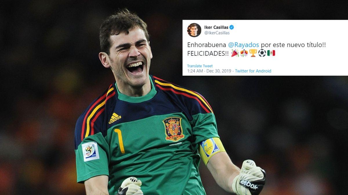 ¡Fue culpa de Layún! Iker felicita a Rayados por título