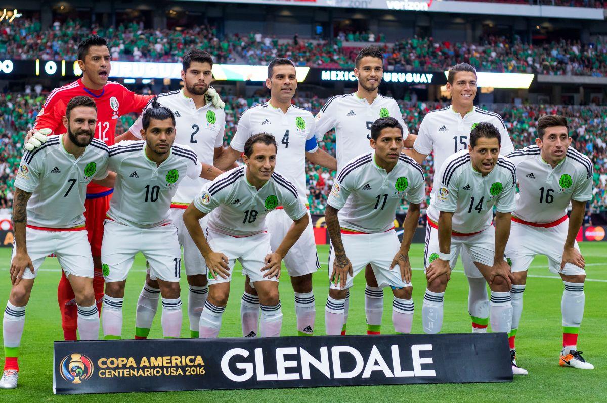 Este fue el equipo mexicano que enfrentó la Copa América Centenario 2016, la última disputada por El Tri.