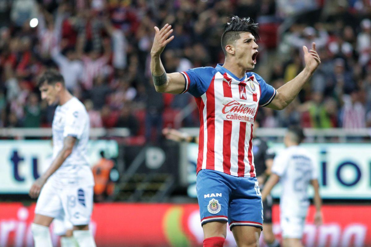 Pulido se fue como campeón de goleo.