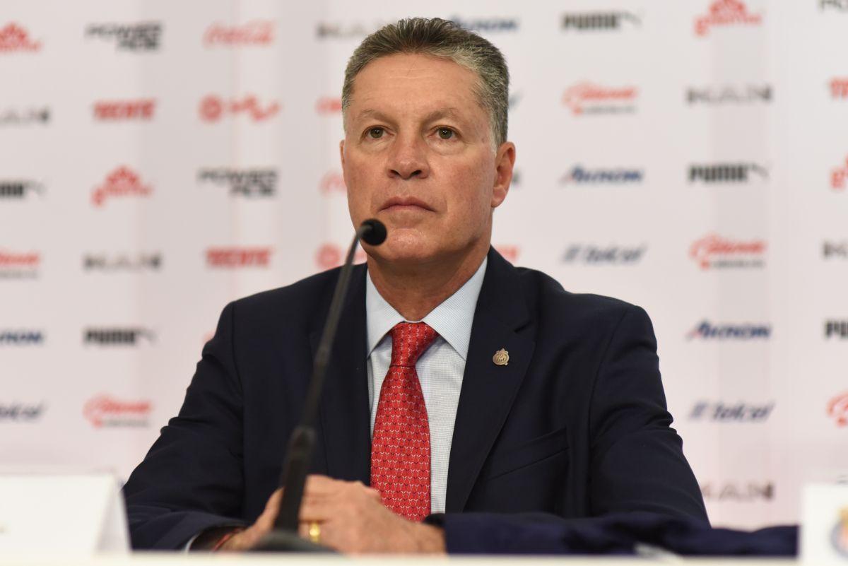 Peláez es vicepresidente deportivo del equipo.