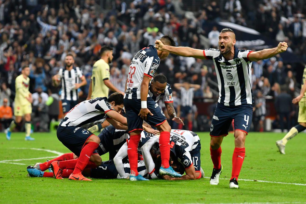 Monterrey se lleva la ida, derrota al América con una genialidad de último minuto