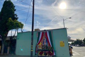Angelinos expresan su devoción a la Guadalupana a través de los murales
