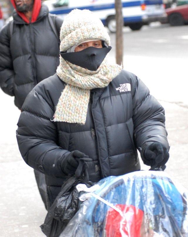 Las temperaturas en Nueva York se sienten bajo cero.