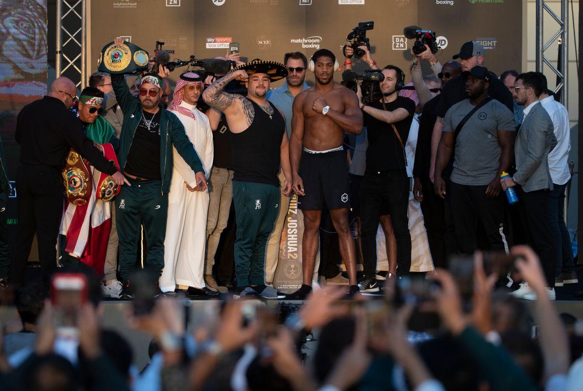 ¡Se pasó de kilos! Andy Ruiz pesó más que la primera vez que enfrentó a Anthony Joshua