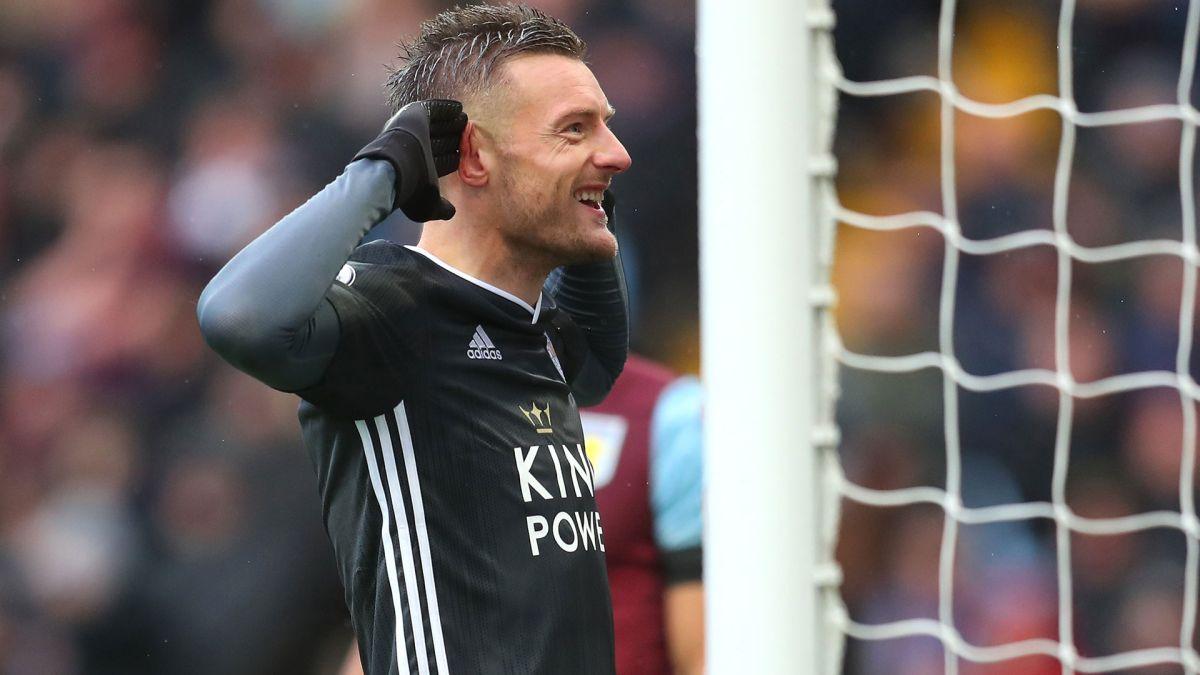 Leicester tiene 38 puntos y sigue como escolta de Liverpool.