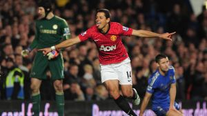 'Chicharito' es el tercer mejor goleador de la década del Mánchester United