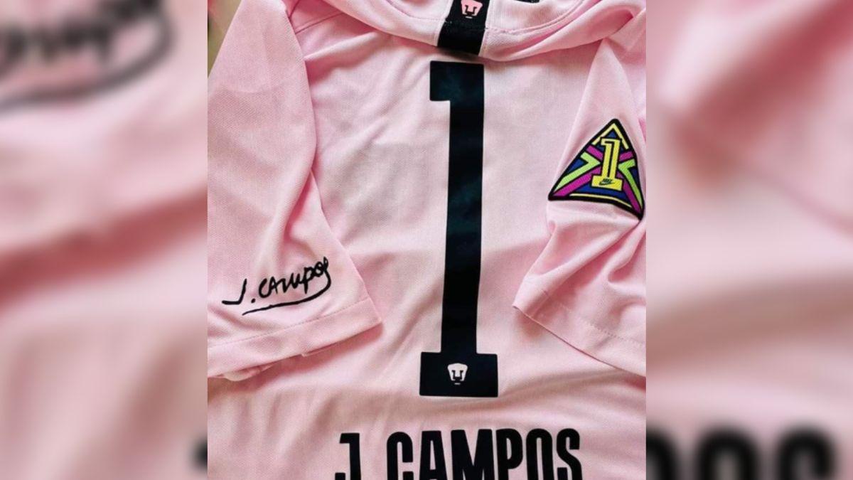 Pumas rendirá tributo a Jorge Campos con un hermoso Jersey