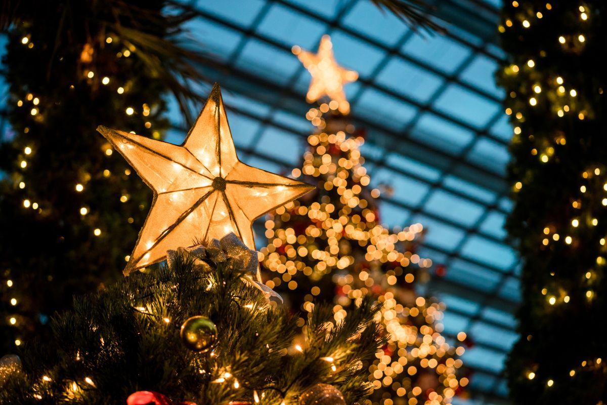 6 modelos de árboles de Navidad con luces integradas por menos de $400