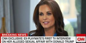 Ex modelo Playboy Karen McDougal demandó a Fox News por decir que amenazó a Trump