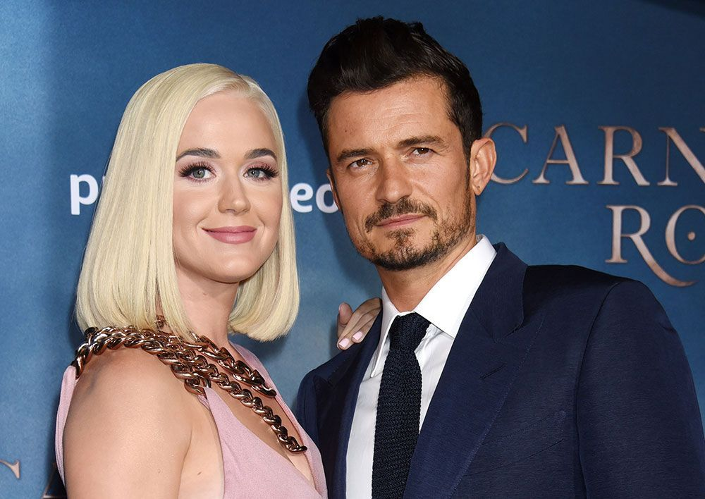 Katy Perry y Orlando Bloom tuvieron que aplazar su boda por culpa del coronavirus