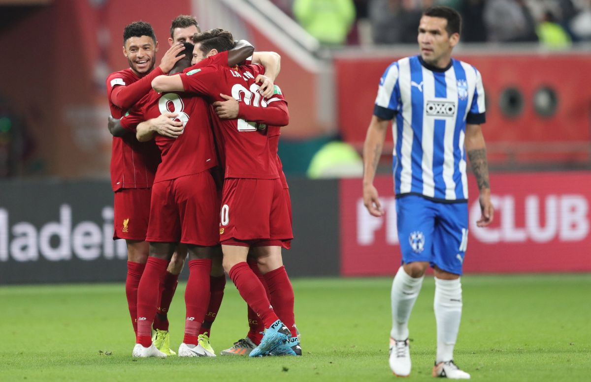 Increíble arranque entre Liverpool y Monterrey, los 'Reds' abrieron el marcador, pero los Rayados lo igualaron de inmediato