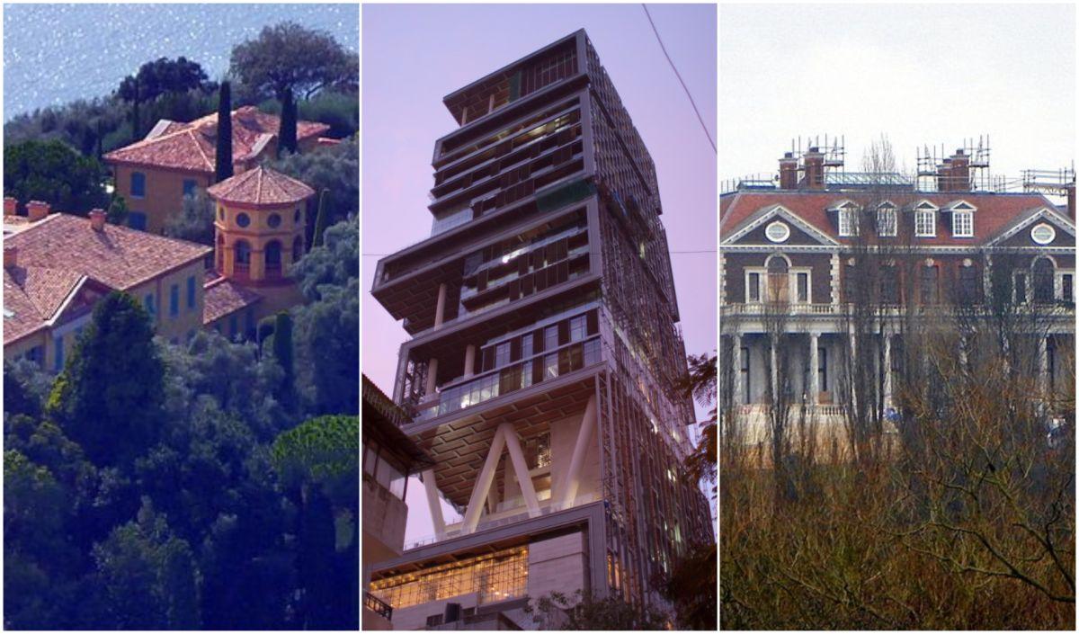 Mansiones de millonarios donde los lujos y el espacio no hacen falta.