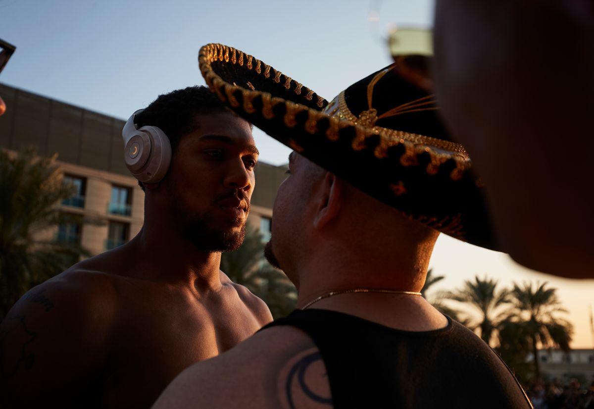 ¡Es hoy, es hoy! La función ya comenzó, Andy Ruiz enfrentará a Anthony Joshua en unas horas