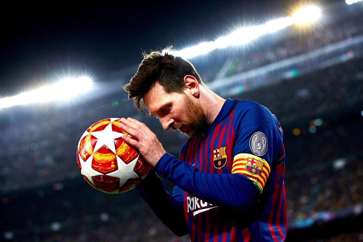 Lionel Messi, el mejor jugador del mundo en la actualidad.