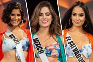Miss Universo 2019: Reinas de belleza en bikini sufren fuertes caídas en pasarela