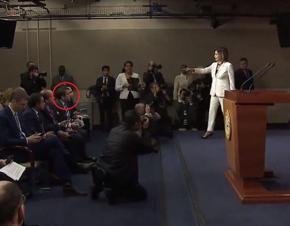 VIDEO: La pregunta sobre Trump que enfureció a Nancy Pelosi