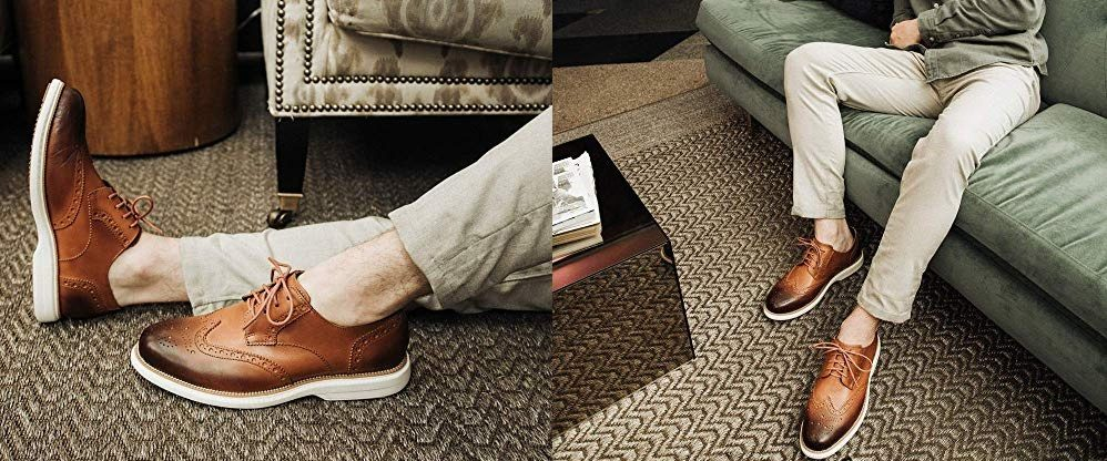 6 zapatos estilo oxford para hombres elegantes pero que necesitan estar cómodos