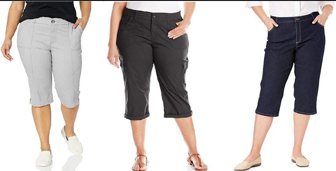 4 Estilos De Pantalones Casuales Capri Para Mujeres Plus Size La Opinion