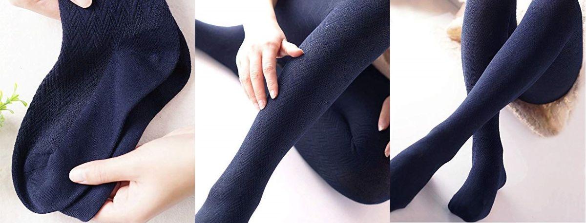 4 estilos de pantimedias para usar faldas y vestidos durante el invierno