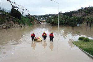La lluvia devasta a Tijuana