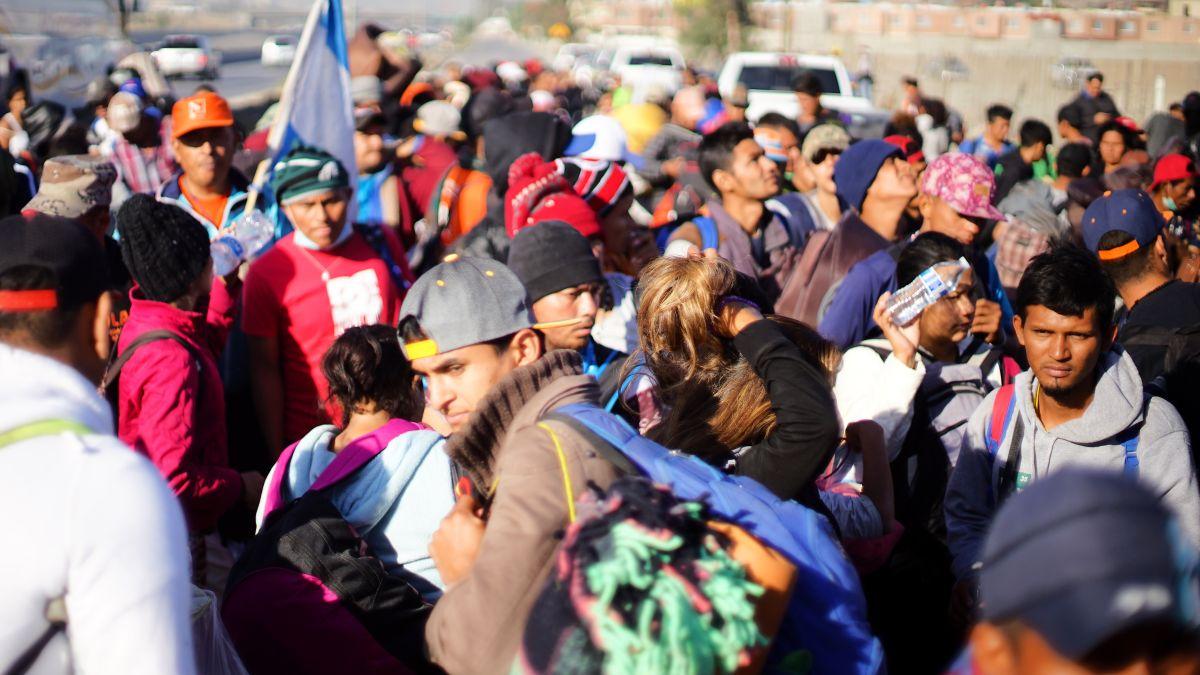 Hay cerca de 13,000 solicitantes de asilo en Tijuana en espera de una respuesta. / fotos: Manuel Ocaño.
