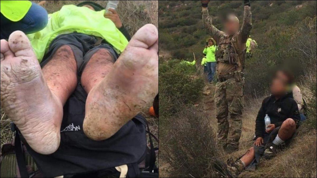 Rescatan a un inmigrante a punto de hipotermia que fue abandonado por el 'coyote'