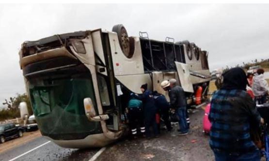 Pasajeros de Houston viajaban en el autobús que sufrió accidente mortal en San Luis Potosí