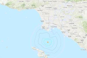 Registran sismo de magnitud 3 cerca de San Pedro en Los Ángeles