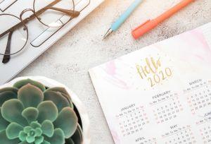 Las 5 mejores agendas 2020 para tener todo organizado