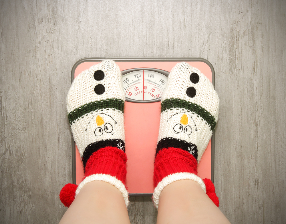 Comer menos antes de Navidad no es de mucha ayuda.