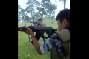 VIDEO: Así entrana la Nueva Familia Michoacana a sus sicarios