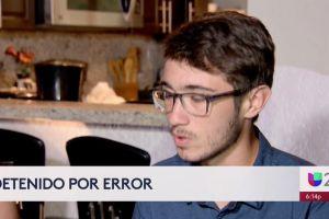 Un joven hispano fue detenido y acusado de un tiroteo, pero todo fue una equivocación de la policía