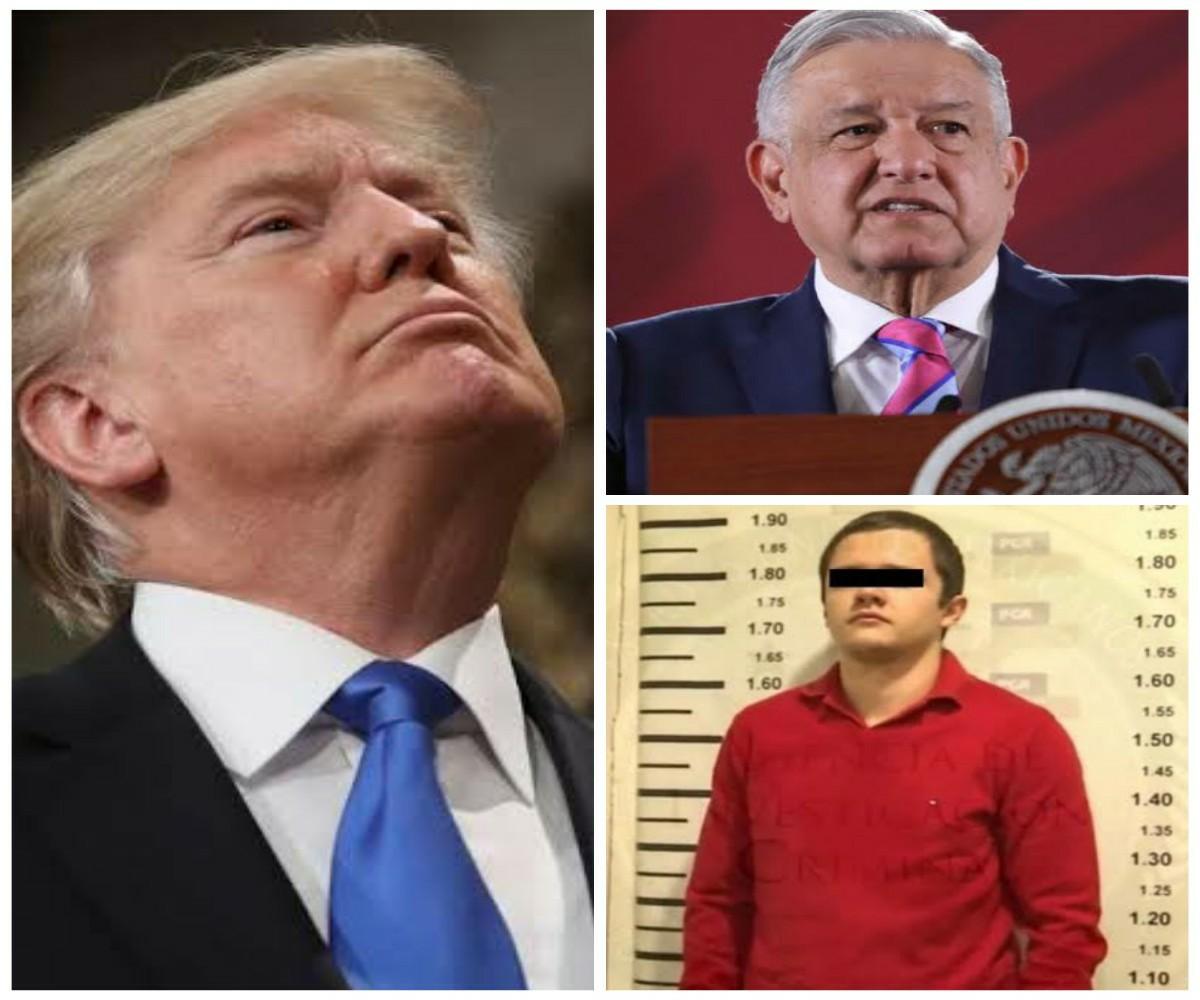 Trump, AMLO. El Menchito