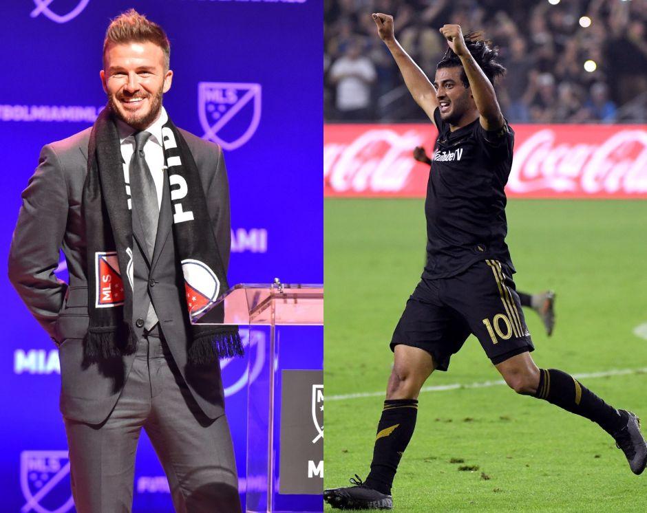 Carlos Vela le dará la bienvenida al Inter de Miami de Beckham en la MLS
