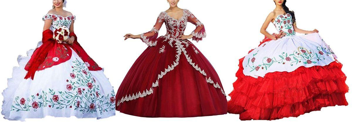 5 vestidos tradicionales de quinceañera para lucir sin gastar mucho dinero