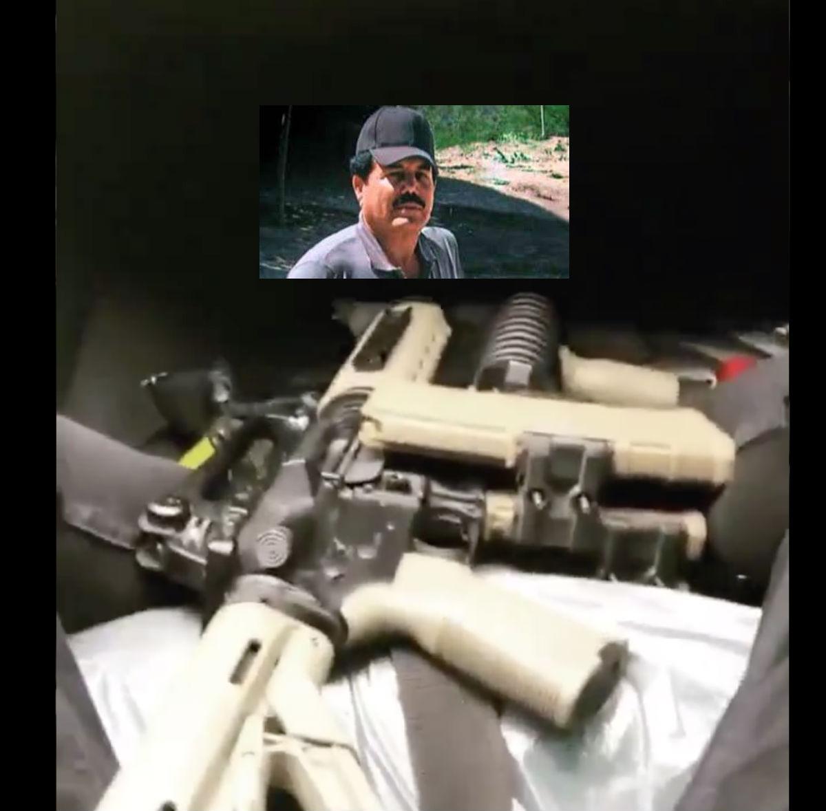 VIDEO: Narcos del Cártel de Sinaloa y el Mayo Zambada presumen armas en Triangulo Dorado