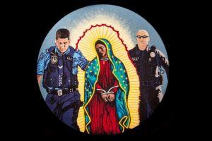 Reaparece la imagen de la Virgen de Guadalupe arrestada por ICE