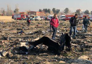 Sin sobrevivientes: 176 personas murieron en el accidente de un avión de Ucrania caído en Irán