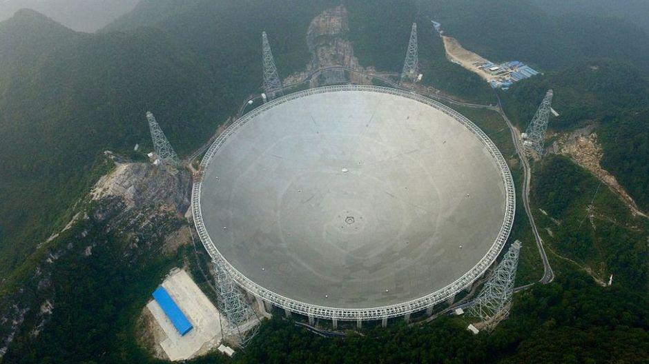 """""""El ojo de China en el cielo"""": así es el radiotelescopio más grande del mundo"""