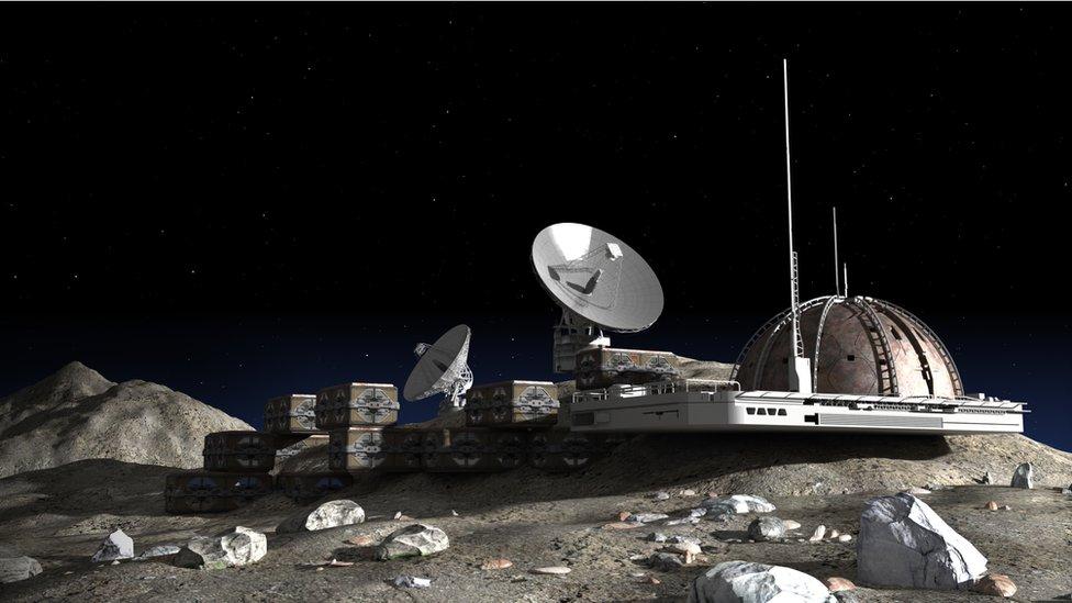 Qué se necesita para construir una base en la Luna (y por qué es posible hacerlo)