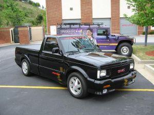 Jay Leno muestra su increíble camioneta GMC Syclone 1991